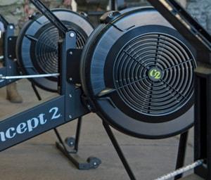 Concept2 rowing machine damper